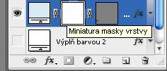 Přidání masky vrstvy