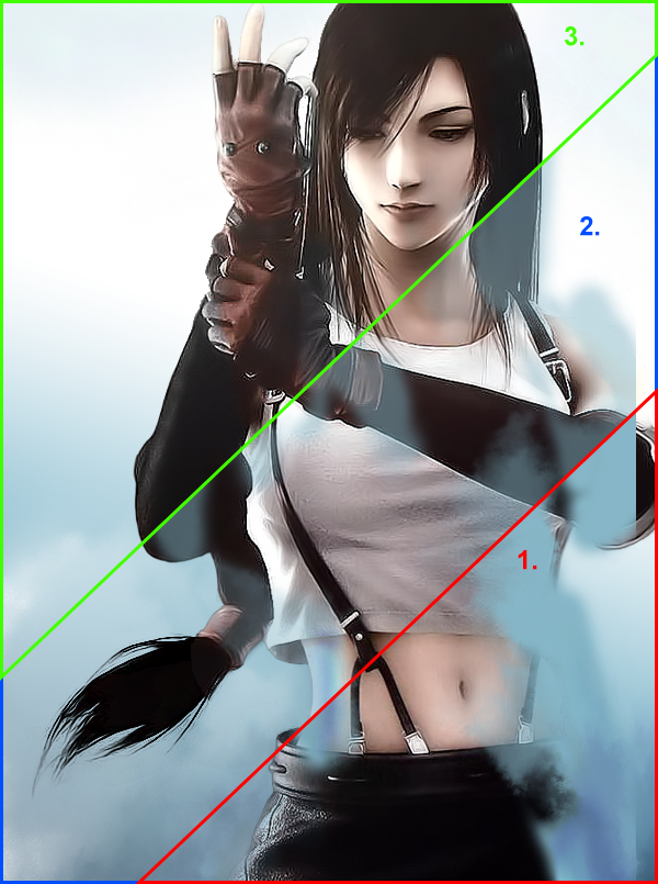 Úprava barev postavy