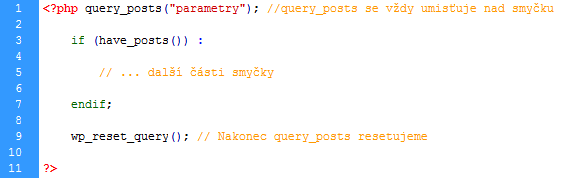 query_posts()